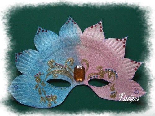 Fabrication masques faire deguisement enfants bricolage maternelle - Masque de carnaval a imprimer ...